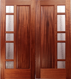 The Pacific Cliffs Entry & Custom Wood Doors by Mendocino Doors ~ Exterior and Interior ~ Door ...