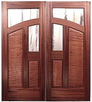 This is Lynn\u0027s Mountains Door & Custom Wood Doors by Mendocino Doors ~ Exterior and Interior ~ Door ...