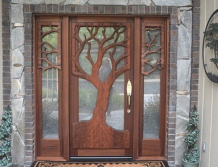 The Stone Valley Entry Door .............................................................TheCastleRockEntry. : tree door - pezcame.com